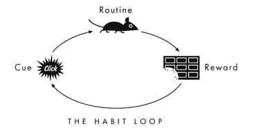 habit loop • Neurita | Blog de Psicología