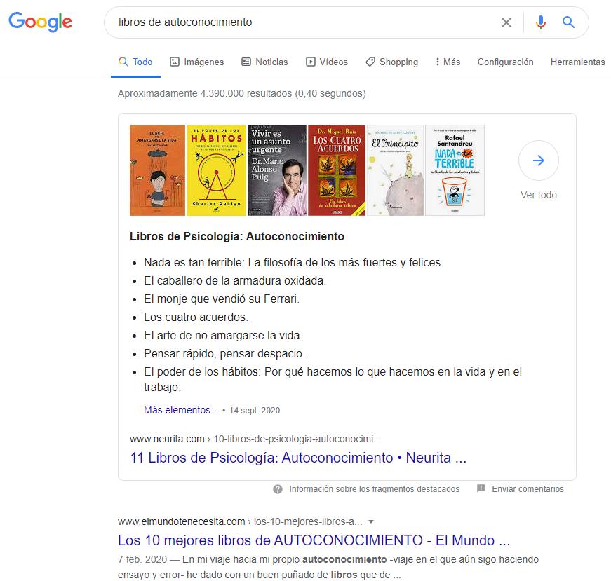 posicion 0 libros de autoconocimiento • Neurita | Blog de Psicología