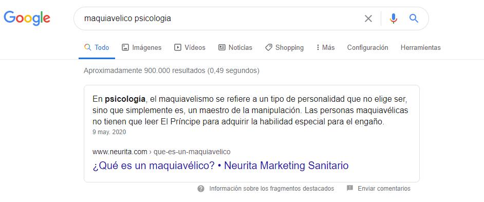posición cero google