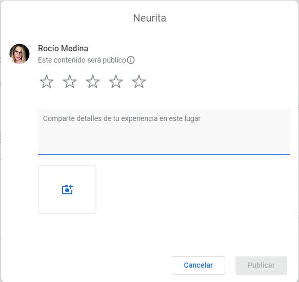 neurita reseñas google marketing sanitario